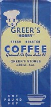 Greer's Hobby Coffee