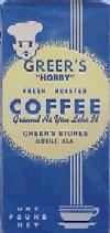 Greer's Hobby Coffee
