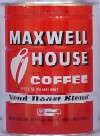 Maxwell House Coffee (large can)
