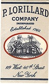 P. Lorillard Cigarette Papers